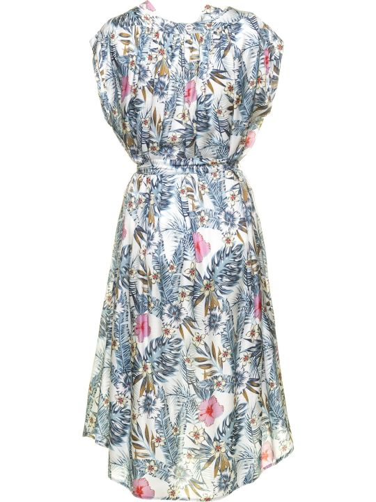 Borbonese Borbonese Dress With Floral Pattern