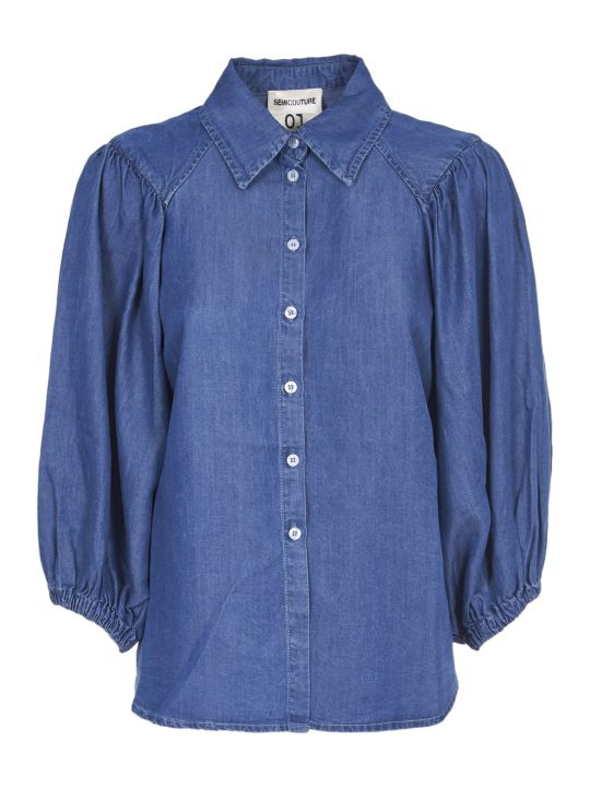 SEMICOUTURE Denim Shirt
