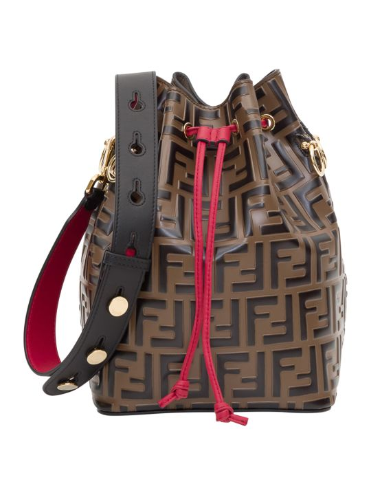 Fendi Mon Tresor Small Bucket Bag