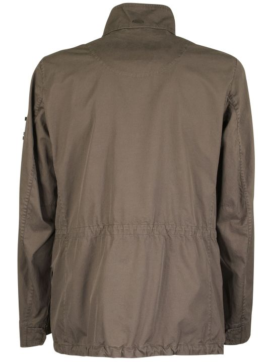 Herno Cotton Jacket With Pockets