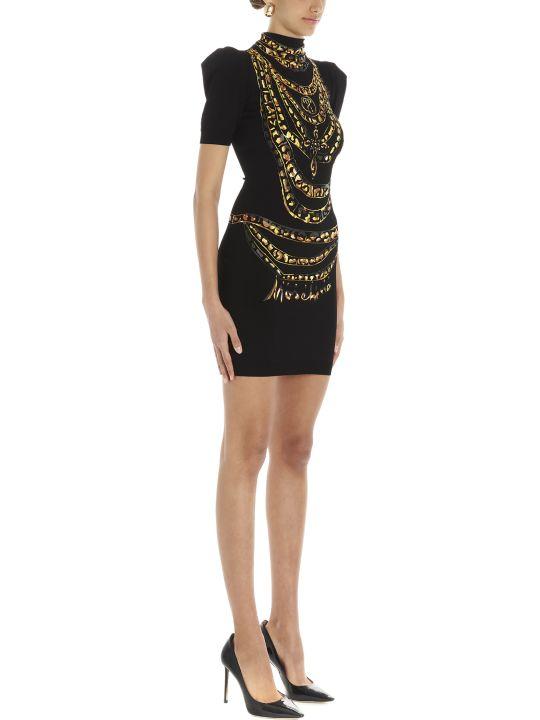 Moschino 'chain Painted' Dress