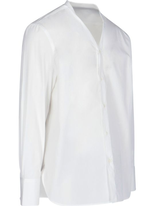 Givenchy Collarless Shirt