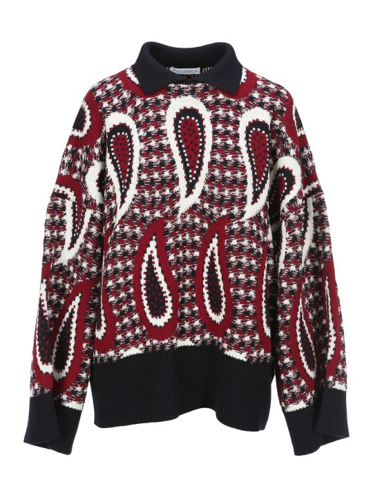 J.W. Anderson Jw Anderson Paisley Intarsia Sweater