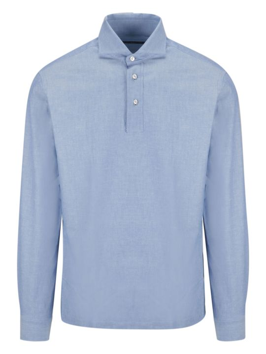 Brian Dales Long Sleeved Polo Shirt