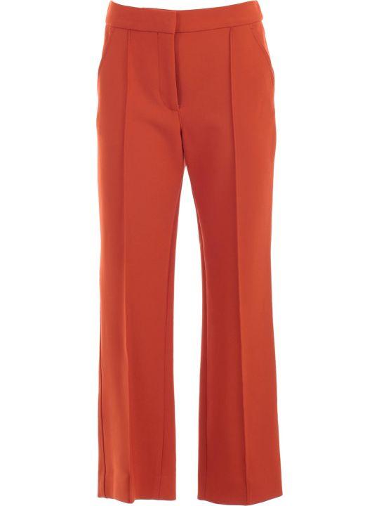 Victoria Victoria Beckham Pants Contrast Stitch