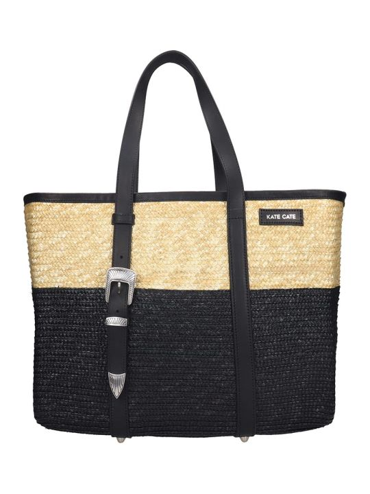 Kate Cate Spina Bag Tote In Black Tech/synthetic