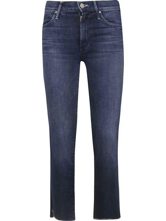 Mother Rascal Ankle Step Fray Jeans
