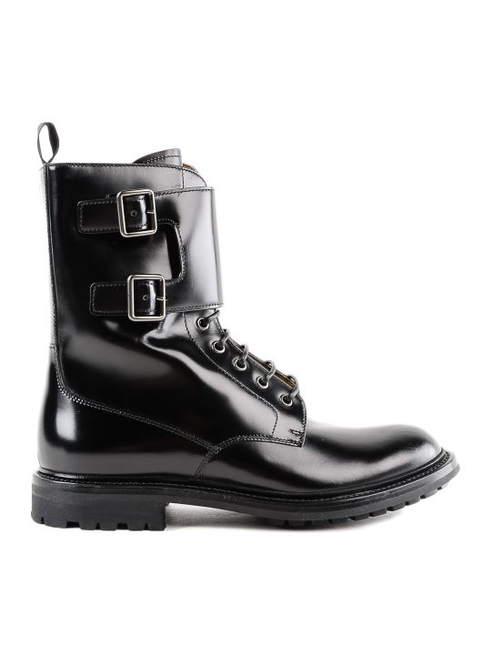 Church's Buckled Combat Boots