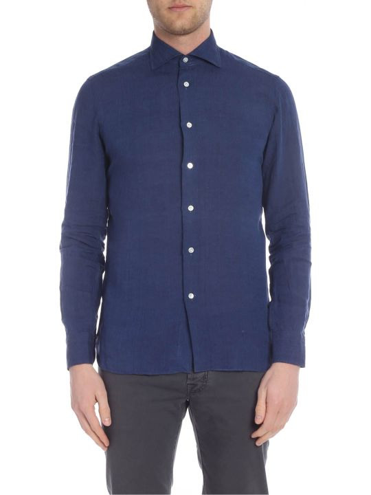 Borriello Napoli Classic Collar Linen Shirt