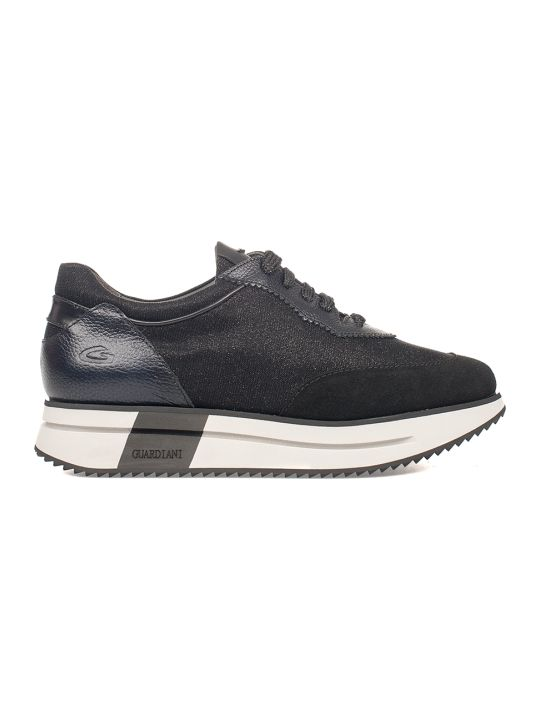 Alberto Guardiani Black Sport Lady Way Sneakers