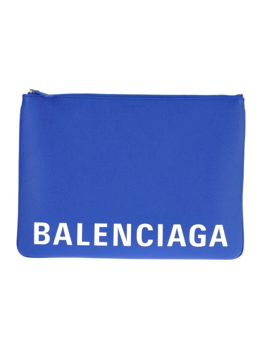 Balenciaga Large Ville Logo Pouch