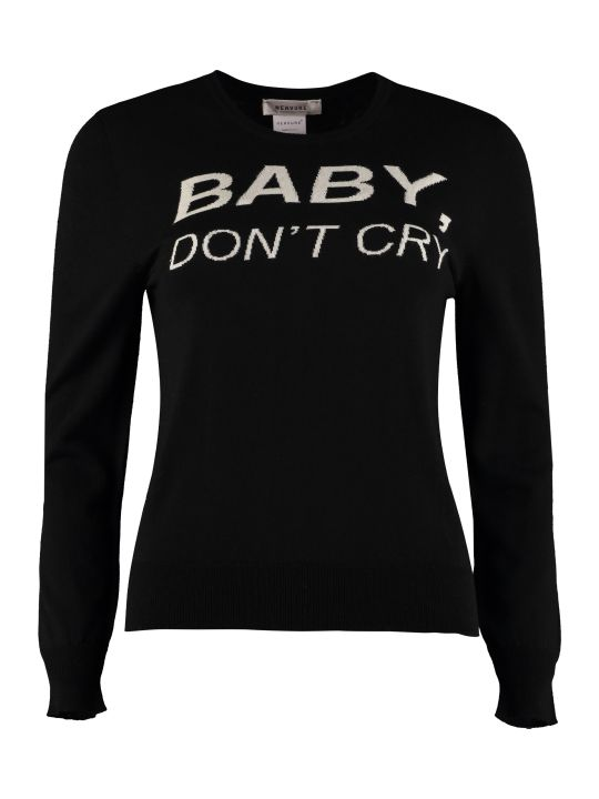 Nervure Baby Don't Cry Intarsia Pullover