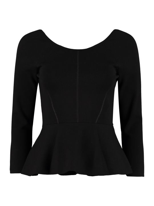 SportMax Tricot Knit Top