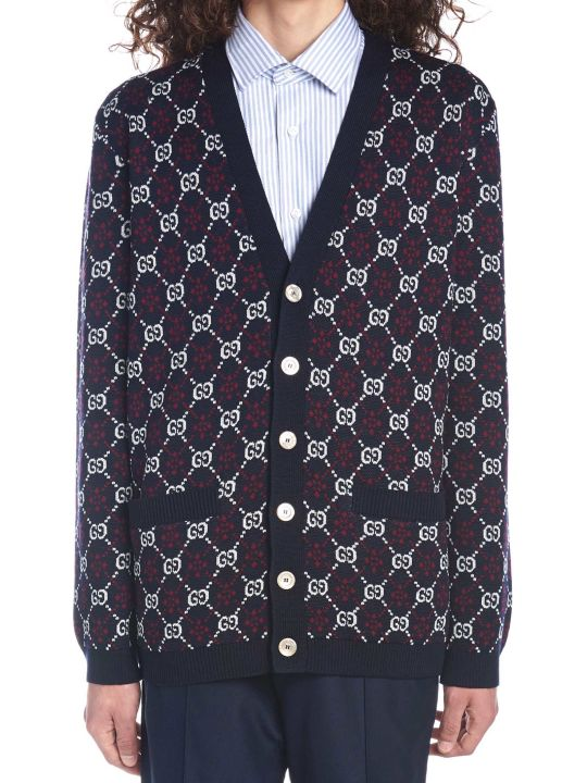 Gucci 'gg Diamond' Cardigan