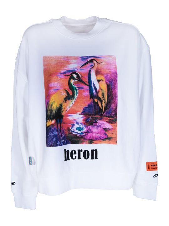 HERON PRESTON Graphic Sweatshirt