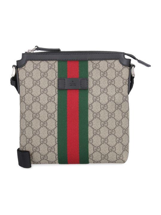 Gucci Web-detail Messenger Bag