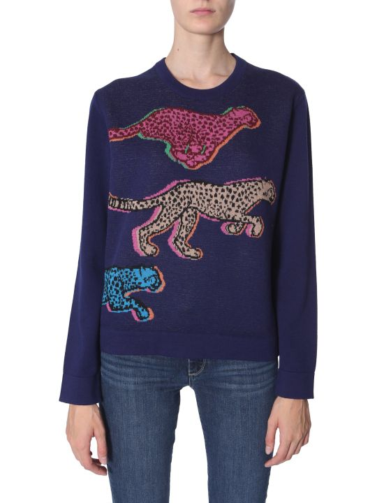 PS by Paul Smith Live Faster Jacquard Sweater