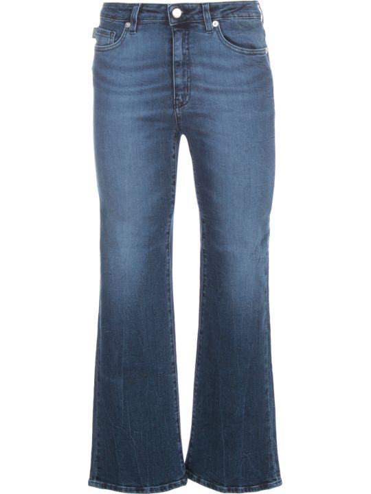 Love Moschino Short Flared Jeans