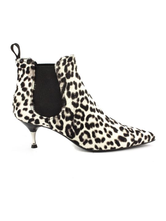 Roberto Festa Leopard-print Ankle Boots