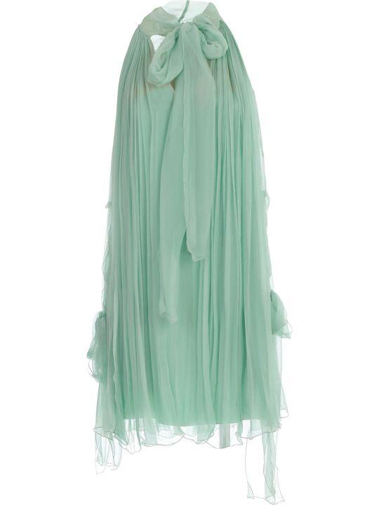 Alberta Ferretti Pleated Dress