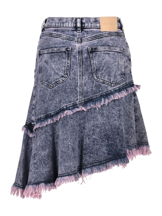 See by Chloé See By Chloe' Asymmetric Denim Skirt