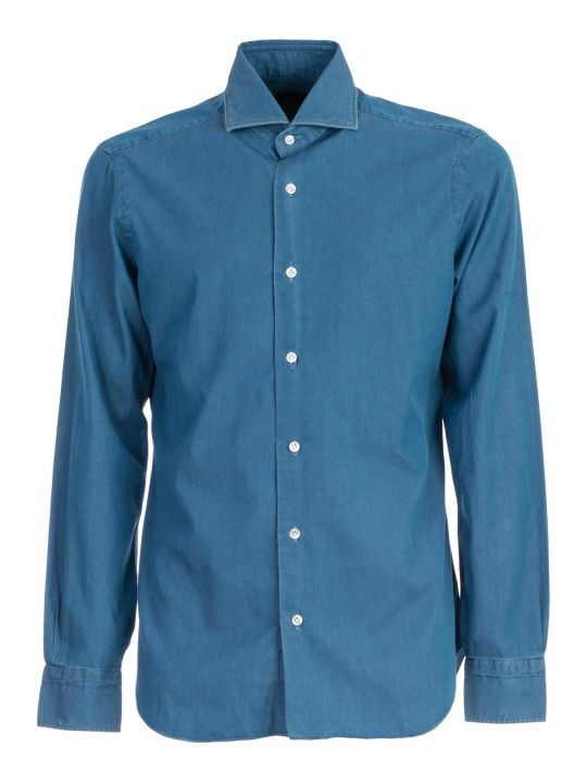 Barba Napoli Shirt Jeans Washed