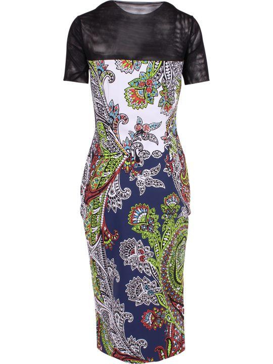 La Petit Robe Di Chiara Boni La Petite Robe Di Chiara Boni Aidy Illusion Polyamide Dress