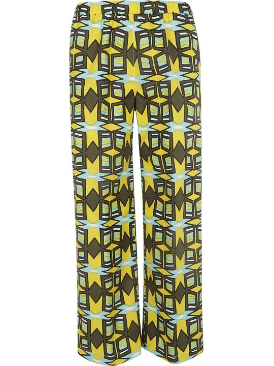 Aspesi Printed Trousers