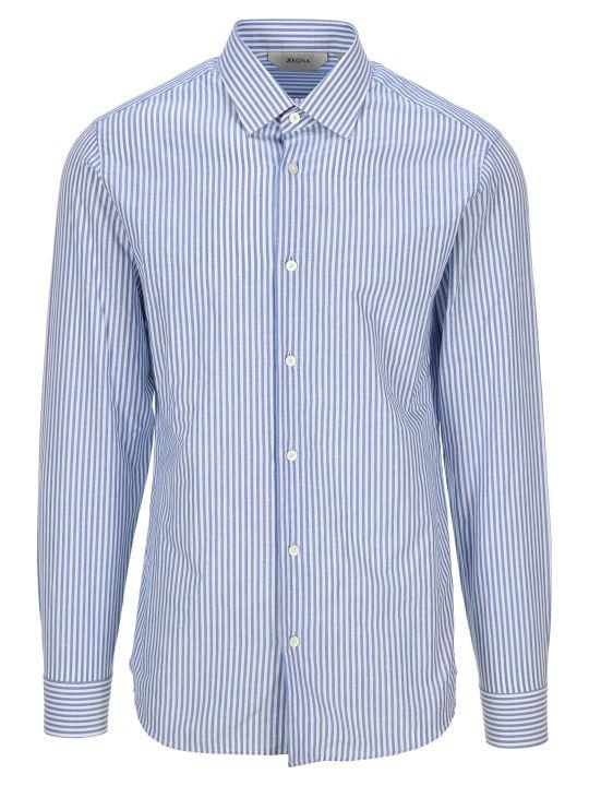 Z Zegna Z-zegna Striped Classic Shirt