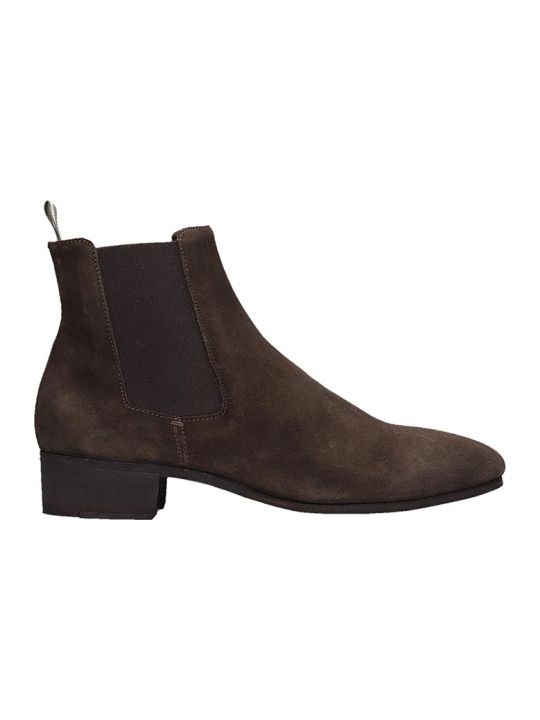 Officine Creative Browne Suede Ankle Boots