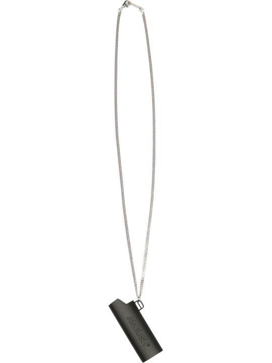 AMBUSH Logo Lighter Case Nacklace L