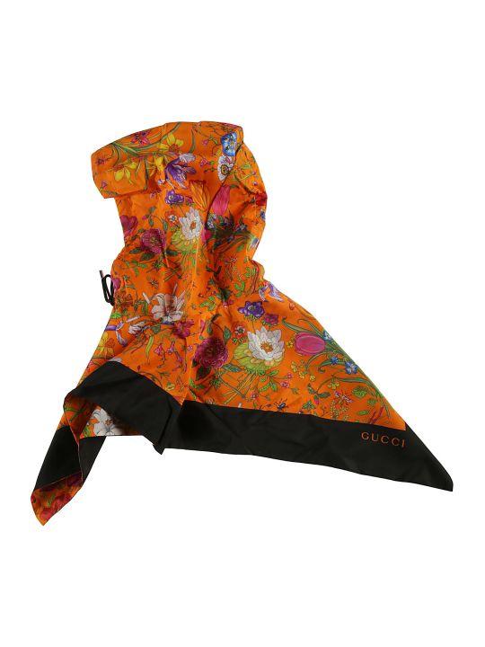 Gucci Floral Print Hood
