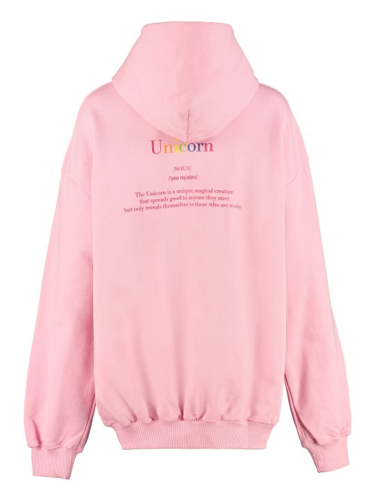IRENEISGOOD Save The Unicon Cotton Hoodie