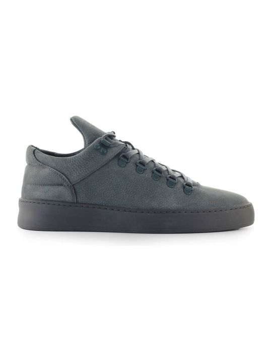 Filling Pieces Cairos Dark Grey Suede Sneaker