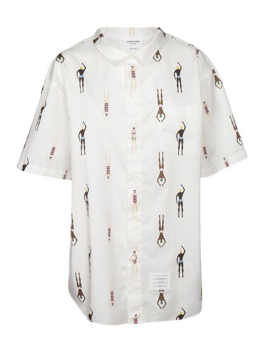 Thom Browne Swimmers Print Shirt