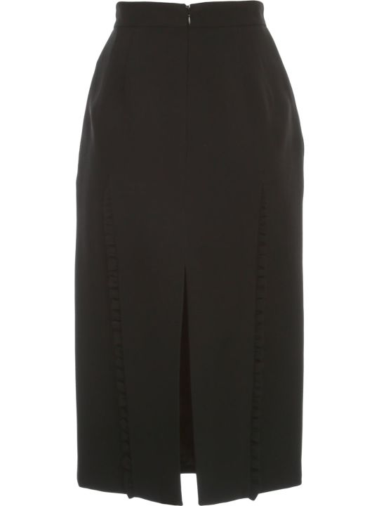 N.21 Pencil Skirt W/rouches