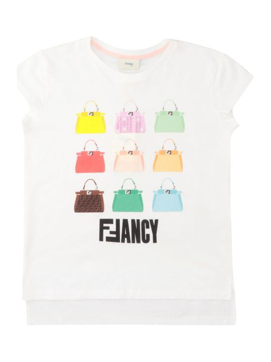 Fendi Printed Cotton T-shirt