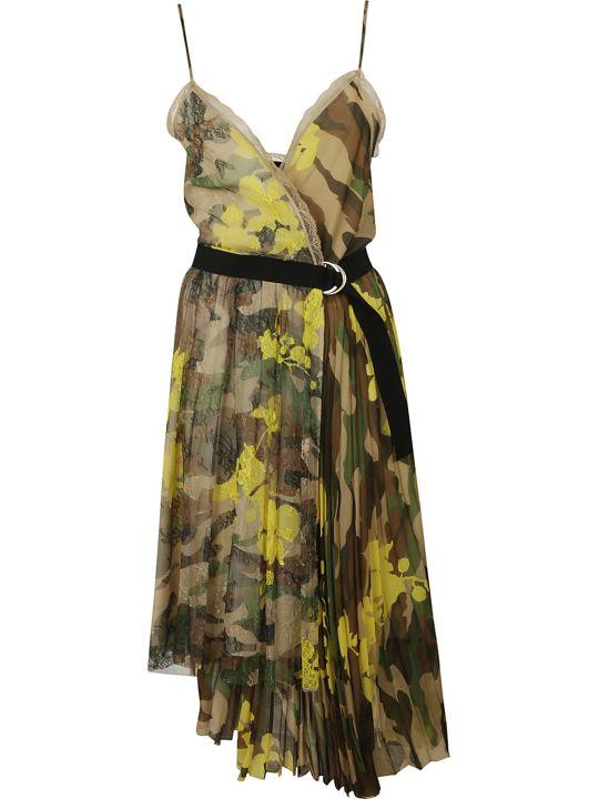 Ermanno Scervino Camo Print Dress