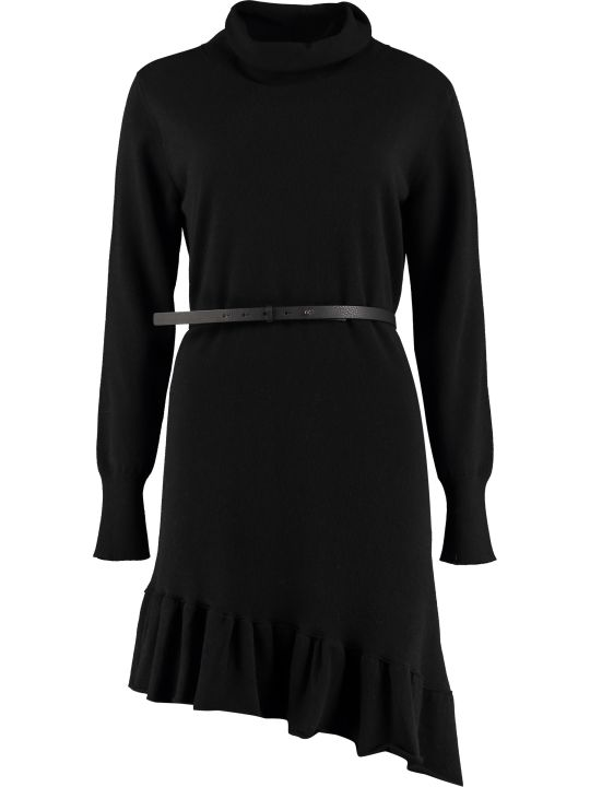 Fabiana Filippi Belted Knit Dress