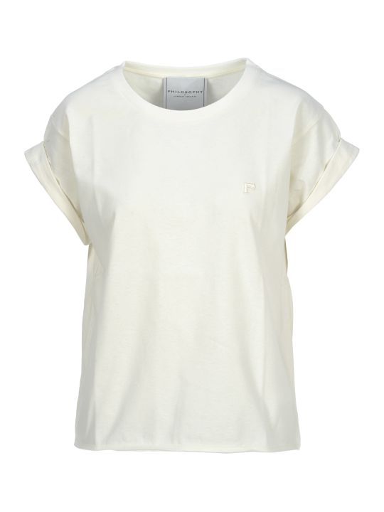 Philosophy di Lorenzo Serafini Philosophy Philosophy Embroidered Logo T-shirt