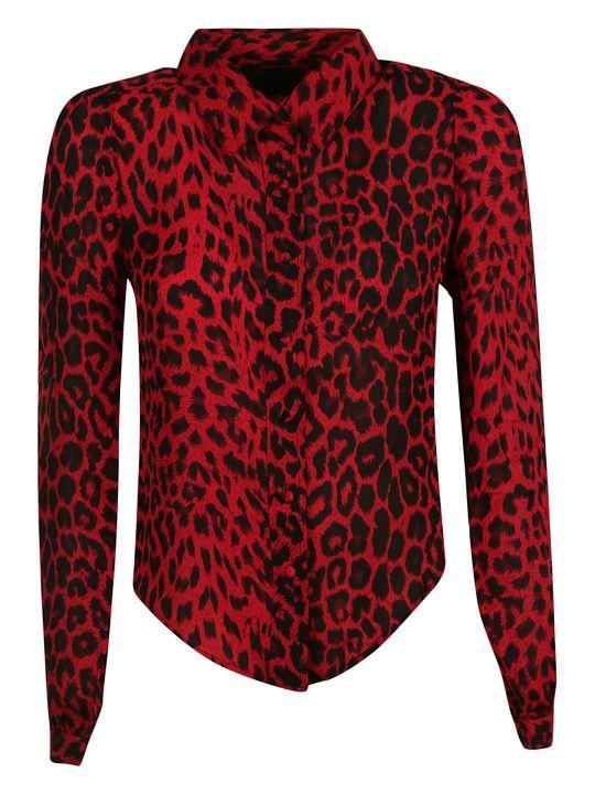 RTA Leopard Print Shirt