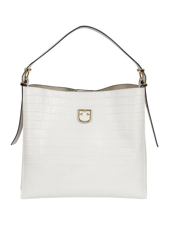 Furla Textured Detail Tote