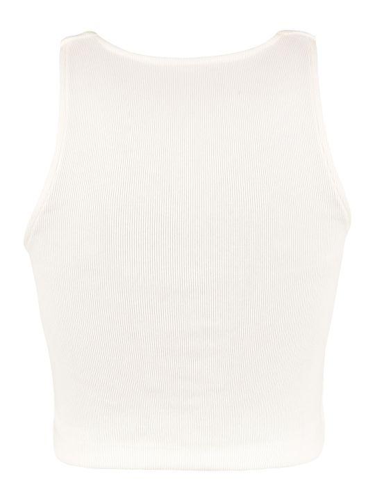 3x1 3x1 And Mimi Cuttrell - Cotton Blend Crop Top