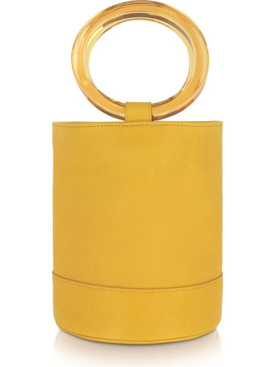 Simon Miller Sun Yellow Bonsai 20 Bucket Bag