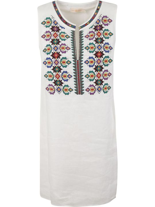 Tory Burch Embroidered Shift Dress