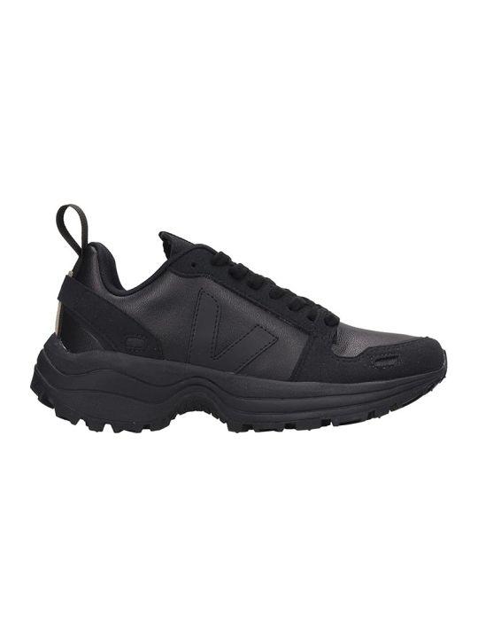 Veja Veja Hiking Sneakers In Black Leather
