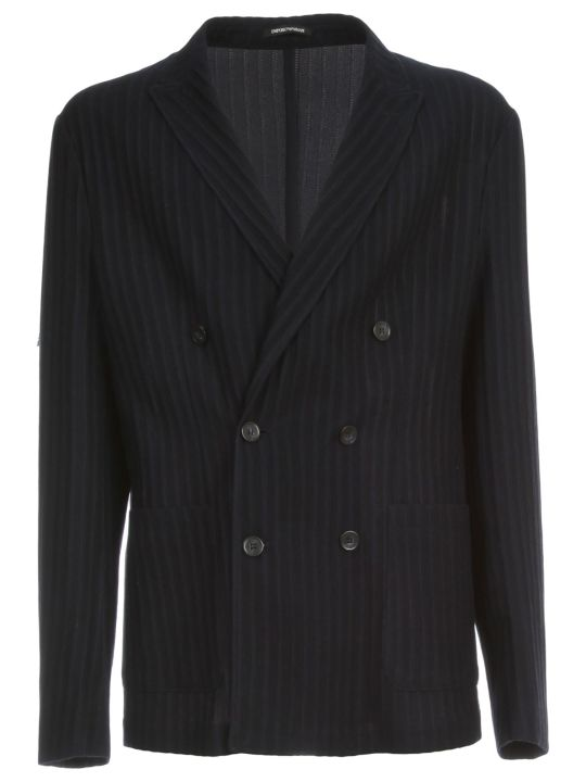 Emporio Armani Double Breasted Jacket Icon