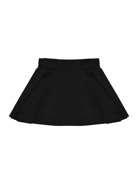 Balmain Black Teen Skirt