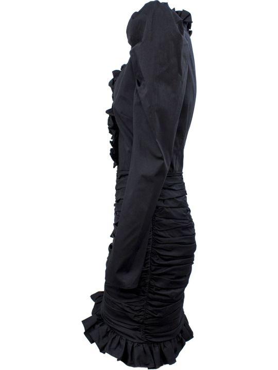 Giuseppe di Morabito Black Silk Blend Dress