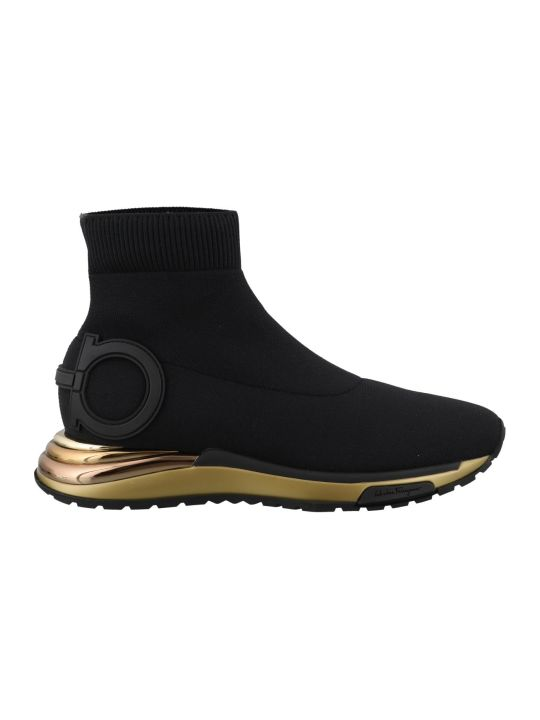 Salvatore Ferragamo Gancini Sneakers